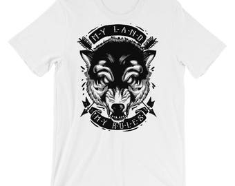 My Land My Rules Short-Sleeve Unisex T-Shirt