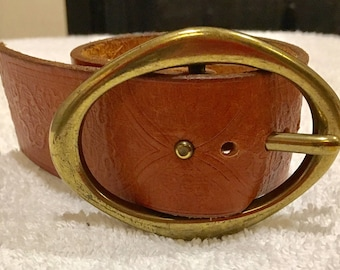 Women's Leather Statement Cuff Bracelet