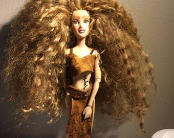 Ooak Tribal doll