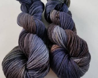 Baby yak yarn indie dyed yarn hand dyed yarn yak yarn