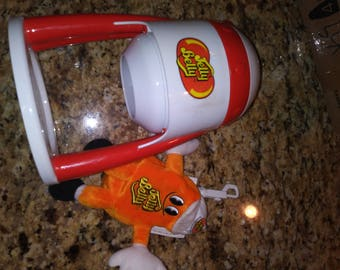 Jelly belly shaved ice machine and plush doll