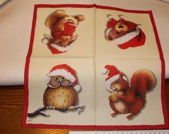 Pet Christmas towel