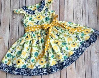 Little girl dresses, girl dress summer, toddler dress, toddler girl clothes, toddler girl dresses, summer dress, girls clothes, floral dress