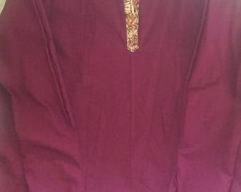 Mens tunic/kurta type shirt