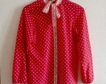 Fancy pink blouse