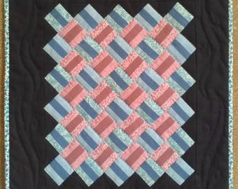 Miniature Quilt - Fence Posts
