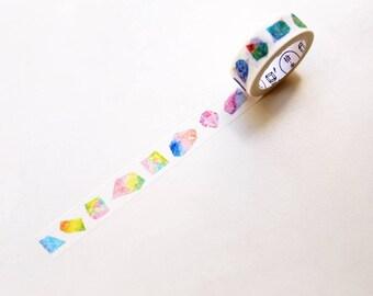 Galaxy Dimond Washi Tape/ Floral Washi Tape/Striped Washi / Masking tape/ japanese washi tape/Planner Supplies