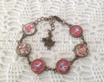 Alicia bronze cameo bracelet.