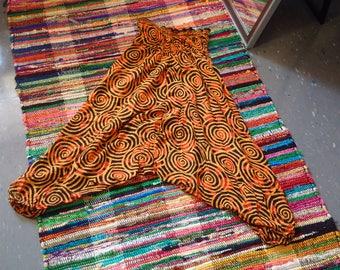 Funky Flowing Patterned Harem pants