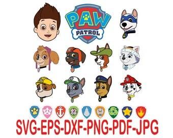 PAW Patrol.Svg,eps,dxf,png,png,jpg.