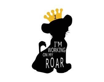 Lion king svg Simba svg Lion svg Disney svg Disney files silhouette digital  svg eps png dxf