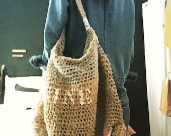 Tote bag, large mesh bag