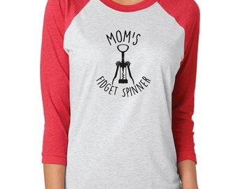 Mom's Fidget Spinner - custom shirt