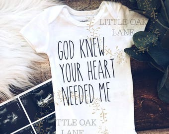 God knew my heart needed you - Rainbow baby - pregnancy reveal - pregnancy announcement - IVF - going to be a dad - going to be a grandma