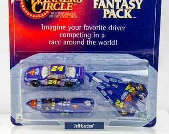 Winners Circle Jeff Gordon # 24 Fantasy Pack Superman DC Comics 1/64 Diecast Car