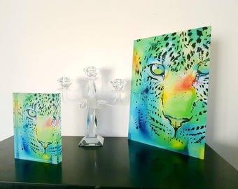 Pantera glass Morgane Monnet table table