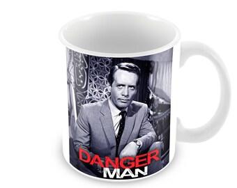 Dangerman Ceramic Coffee Mug    Free Personalisation
