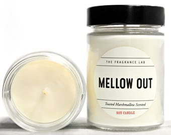 Handmade Scented Candle - Toasted Marshmallow | Baked scents | Home fragrance | Mellow out | Sweet candles | Gift ideas | 10oz