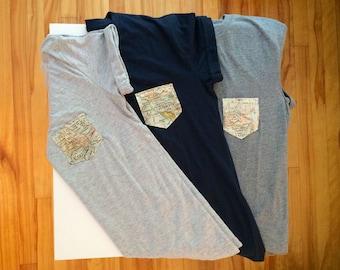 Shirt t-shirt short sleeve - Wanderlust