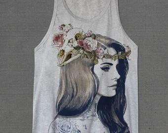 Lana Del Rey Born to die Large Tank tops Shirt One Size Only