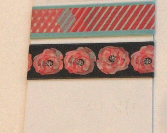 Washi Tape Sample 'Note' 3 x 1m