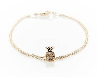 Pave Pineapple Bracelet