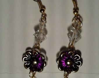 dangle earrings, jewelry