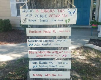 Military Station sign