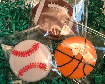 Sports Sugar Cookies (1 dozen)