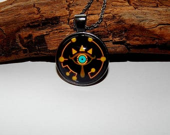 botw jewelry botw sheikah slate eye symbol breath of the chokers 642