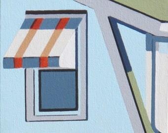 Slanted Rules - urban acrylic painting