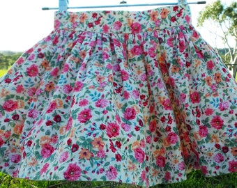 The Whizzy Skirt for Girls - 100% Cotton Gathered Skirt