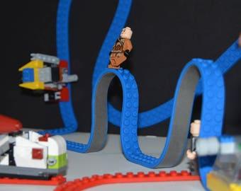 Compatible Lego Block Silicone Tape: Flexible, Reusable, Washable, Cuttable