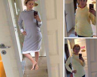 Beta hoodie/klänning i stl 34 - 50