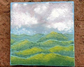Smoky Mountain Mini Canvas