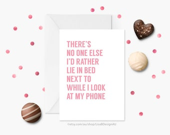 Anniversary Card, Valentines Card, Humour Card, Card for Boyfriend, Card for Girlfriend, I Love You Card, Funny Greeting Card | GCLACA6014