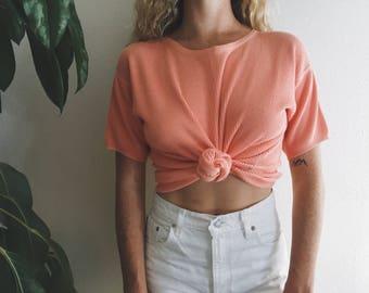 Vintage Knit Pink Top