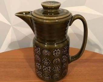 Green Lord Nelson Pottery Coffe Pot