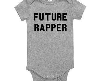 Kids Streetwear Future Rapper Infant Onesie Bodysuit