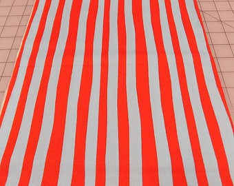 Dr Seuss Fabric, Stripes, Celebrate Seuss, Red, Blue, Robert Kaufman, Seuss Birthday, Book, Read, Reading, Cotton, Woven, Fabric by the Yard
