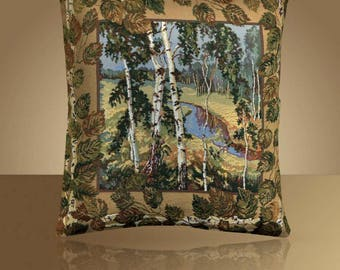 Decorative cushion cover / pillow cover / pillow case handmade / tapestry pillow /