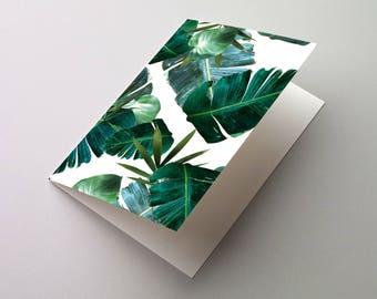 Jungle Print A6/C6 Greeting Card