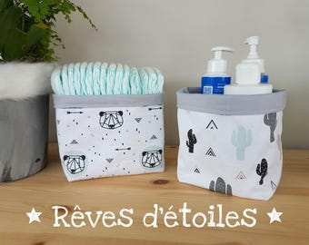 Baskets, baskets, organizers panda arrows for diaper changing table
