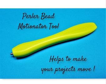 Motionator Tool, Perler Bead Tool, Melting Beads, Bead Motions, Move Perler Beads, Perler Items, Craft Tools, Bead Art Supplies, Perler Tool