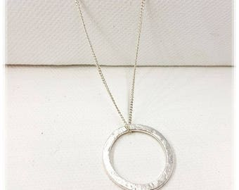 Handmade Circle Necklace