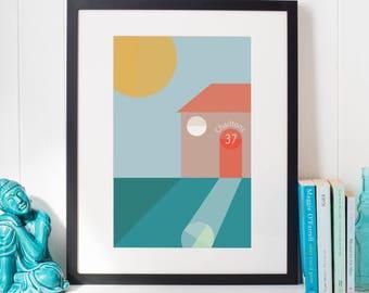 Personalised Print New Home Housewarming Gift House Print Home Print Customized Family Print A3 Wall Art A4 Wall Art
