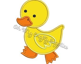 Ducky Applique Design