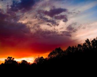 Michigan Sunset-Beautiful Sky-Photography