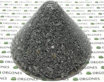 8x Lemurian Orgonite Holy Hand Grenade Cones - 8 pieces HHG holyhandgrenades pyramid orgone energy