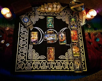 10 Card Celtic Cross Tarot Reading - via Email